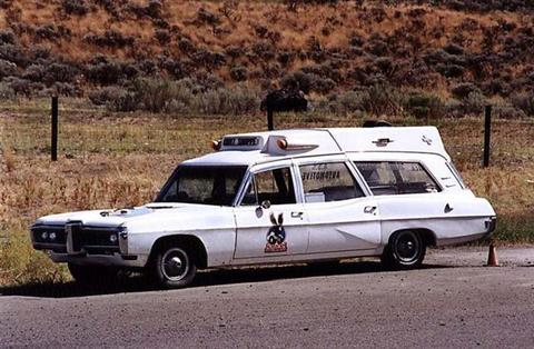 1968 Pontiac ambulance Langley