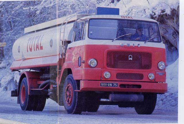 1968 Unic Tanker 170