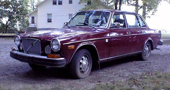 1968 Volvo 164  2