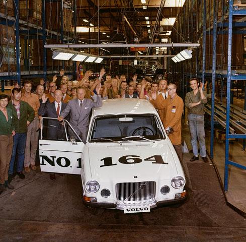1968 Volvo 164  5
