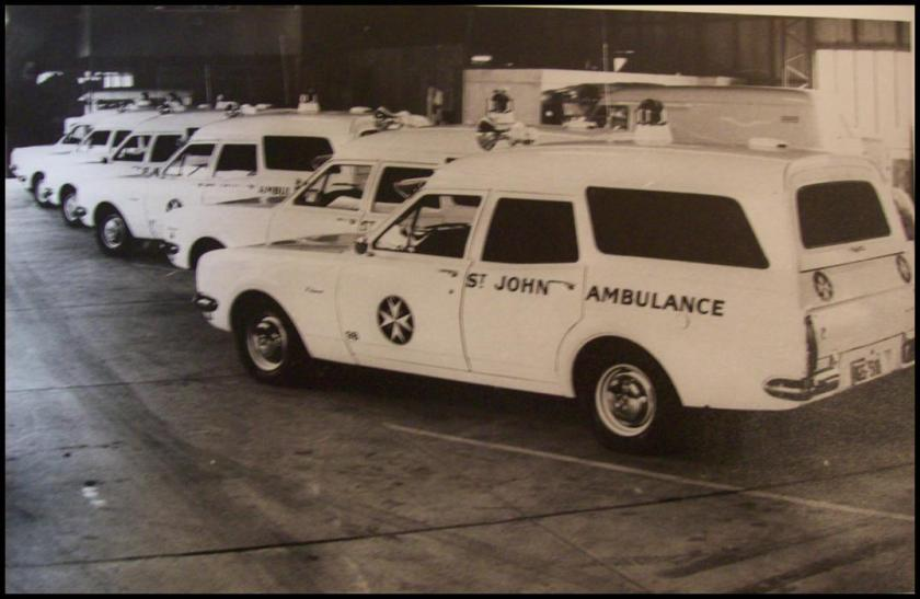 1969 HT and 1970 HG Holden Ambulance