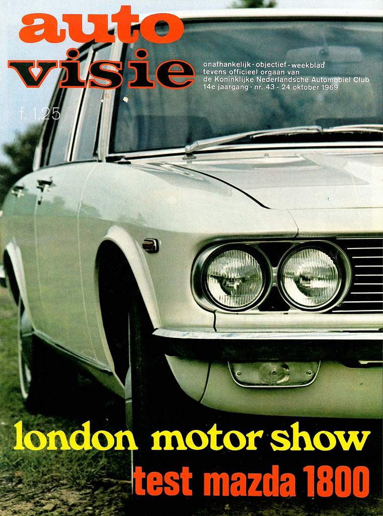 1969 Mazda 1800 Test okt 1969