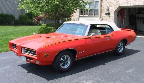1969 Pontiac GTO Judge Convertible d