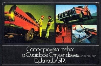1969 Simca Esplanada Chrysler GTX