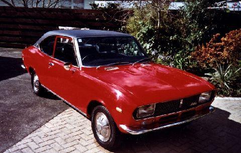 1970-79 Mazda 616 coupé
