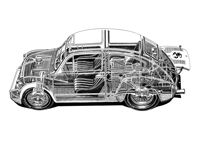 1970 Abarth Fiat 1000 TCR Gruppo 2 a