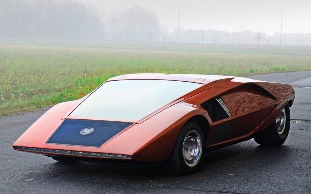 1970 Classic Lancia Bertone Concept Car.