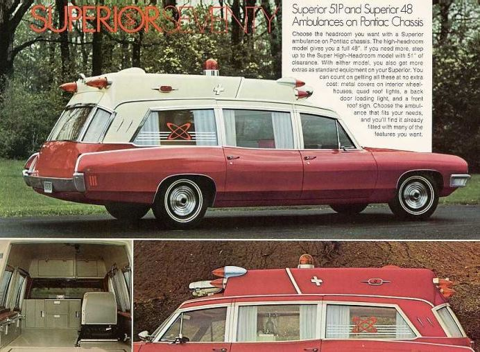 1970 PP 70 SUPERIOR AMBULANCE