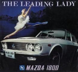 1971 Mazda 1800 leading lady