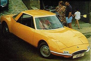 1971 simca matra 530-b
