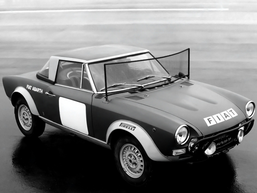 1972-75 Abarth Fiat 124 Rally
