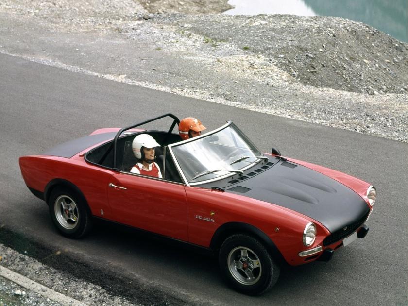 1972-75 Abarth Fiat 124 Spider