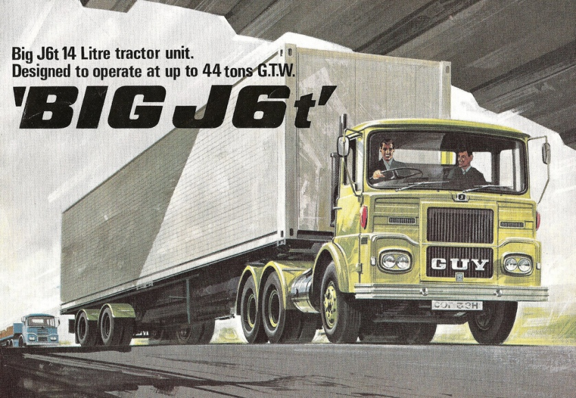 1972 Guy Big J6T Truck Brochure