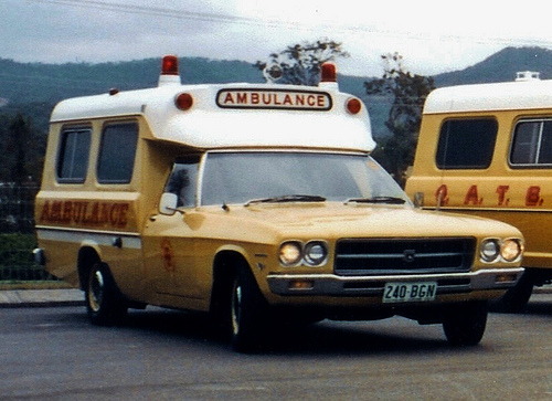 1972 Holden HQ 1 Tonner ambulance