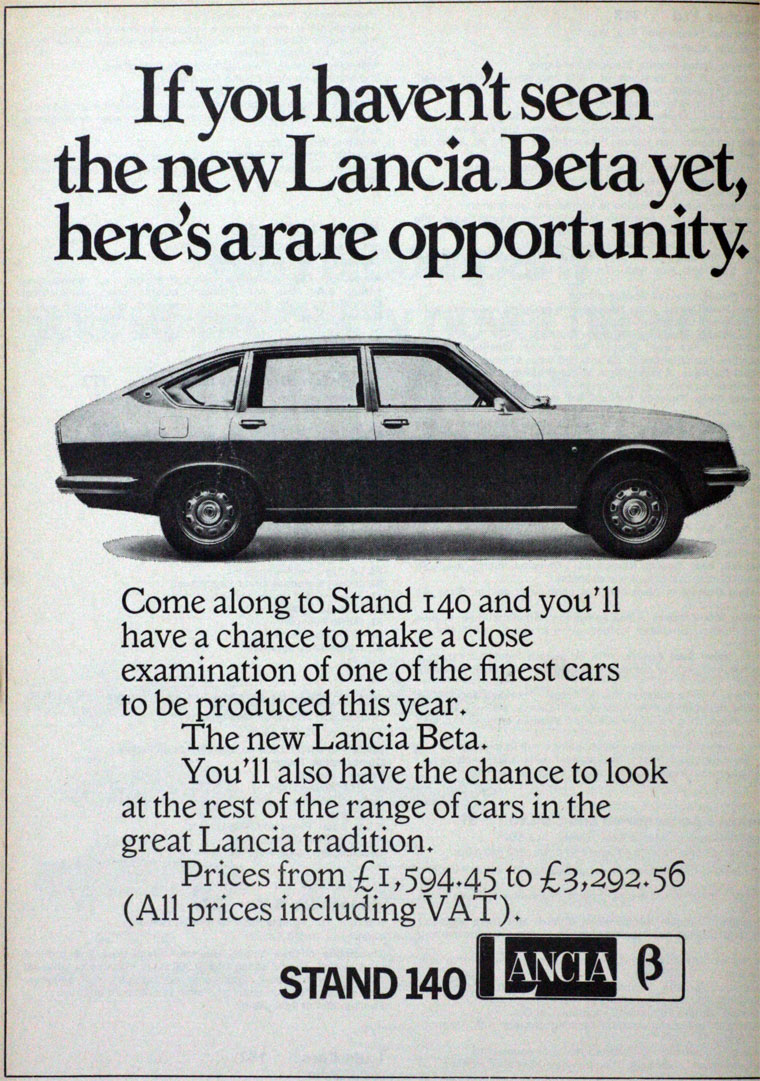 1972 Lancia B
