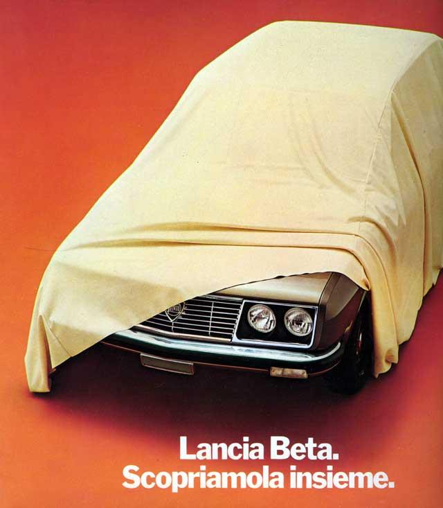 1972 lancia beta-undercovers