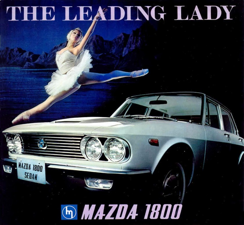 1972 mazda 1800 brochure