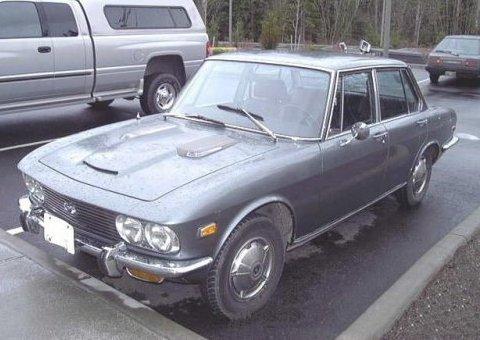 1972 Mazda 1800 Sedan Front 1