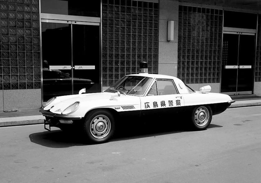 1972 Mazda police car