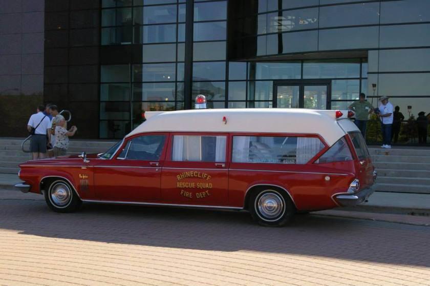 1972 Pontiac Ambulance Rhineclift Fire Department