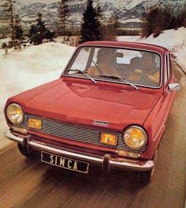 1972 Simca 1100 Special