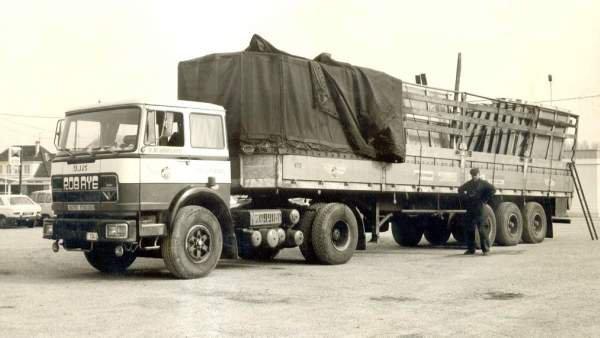 1972 UNIC des Transports ROBAYE de VEZIN Belgique