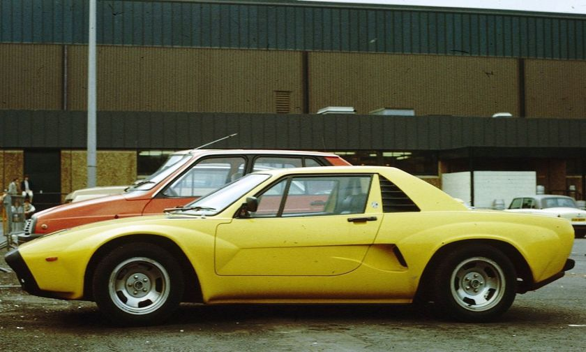 1973 AC ME3000 yellow