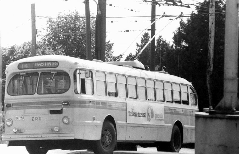 1973 Brill 2100 series of Canadian Car Brills operated by BC Hydro Transit