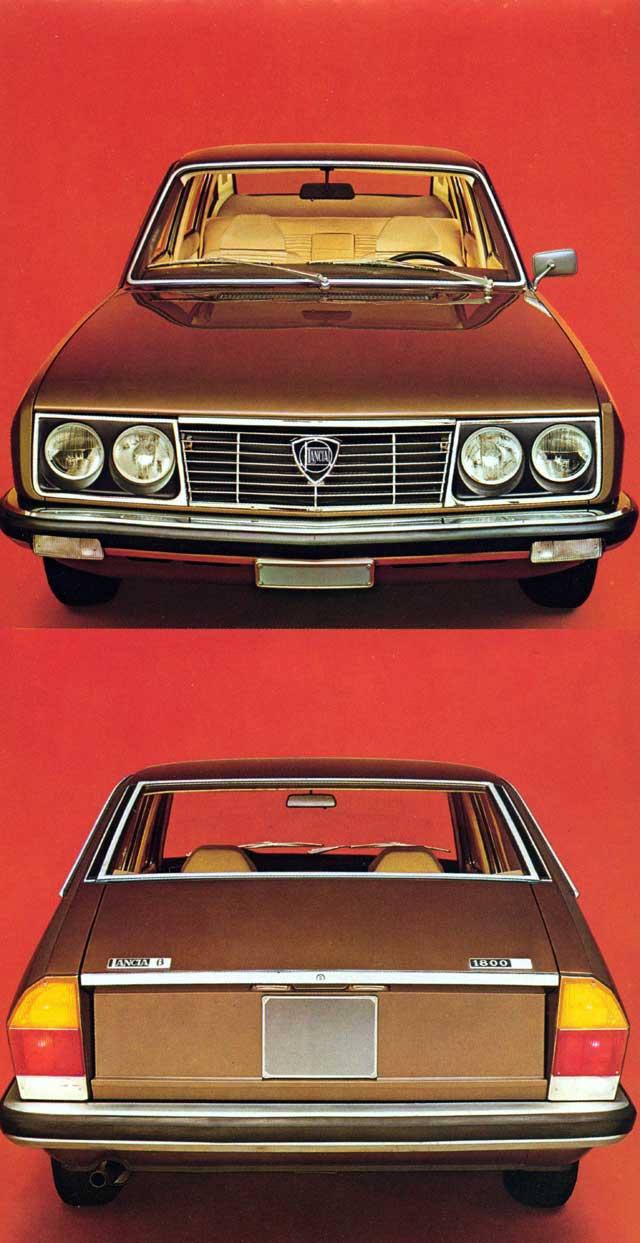 1973 lancia beta-frv