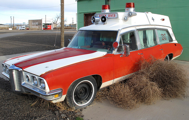 1973 Pontiac Ambulance