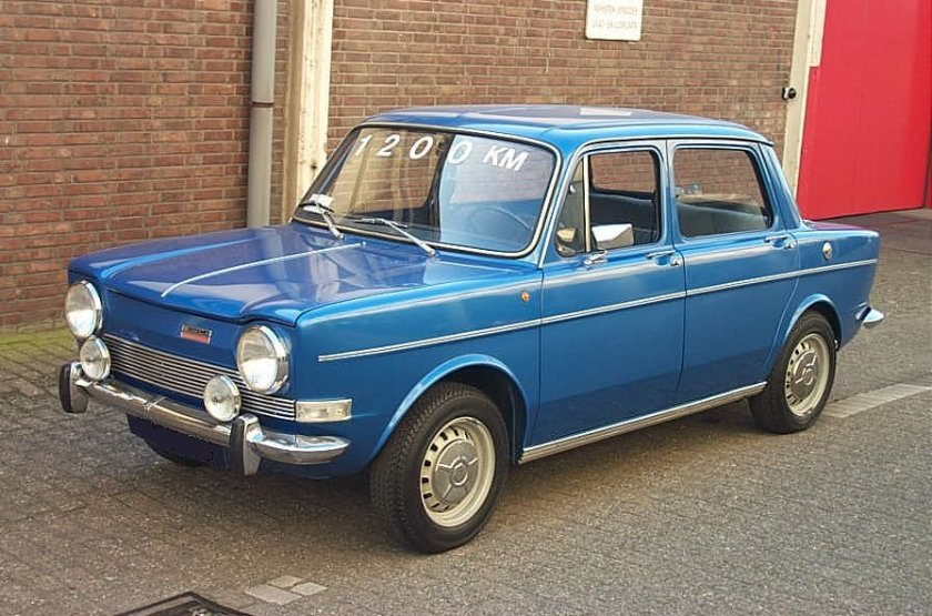 1973 Simca 1000 GL