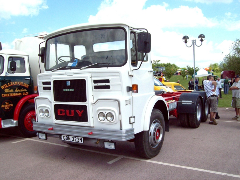 1974 Guy Big J6 Registration GDN