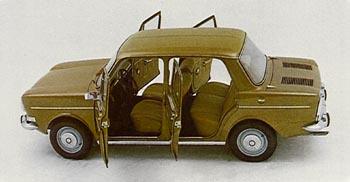 1974 simca 1000 4 door