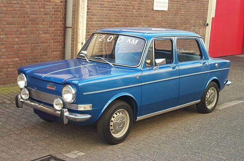 1974 Simca 1000 GL