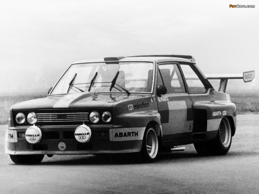 1975 Fiat Abarth 131 Prototype SE031