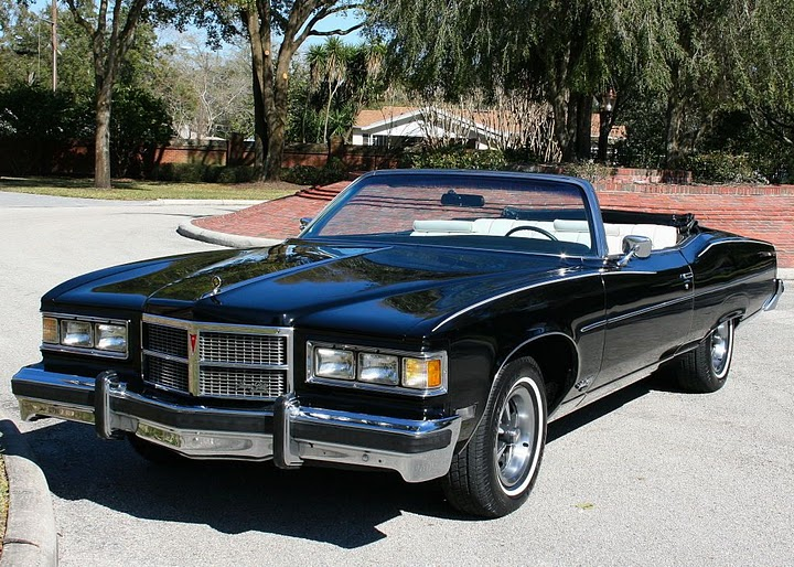 1975 Grand Ville was the last full-size convertible built by Pontiac
