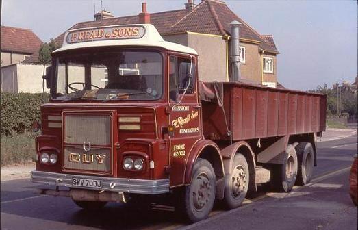 1975 Guy Big J8, SWV 700J