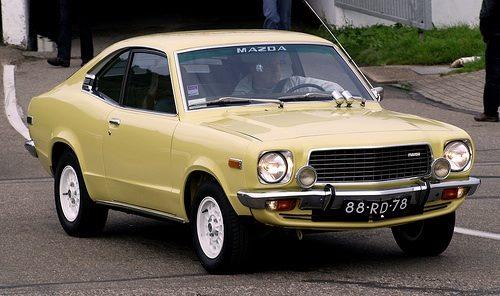 1975 Mazda 818 coupe