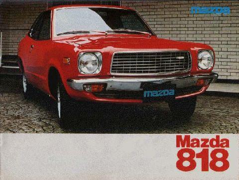 1975 Mazda 818 folder