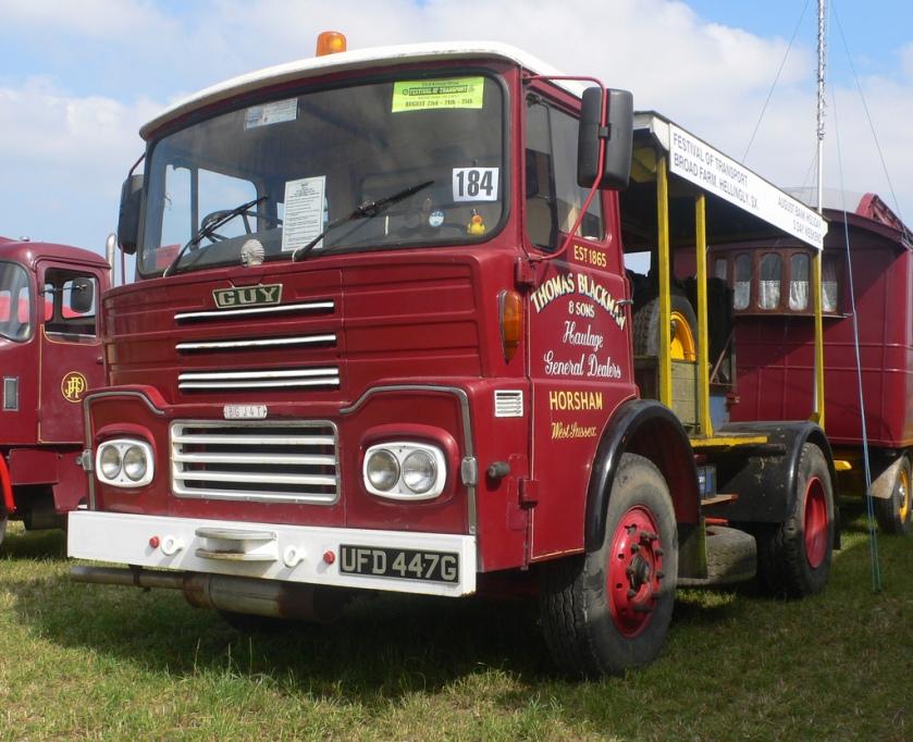 1976 Guy Big J generator truck UFD447G