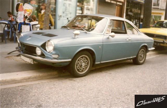 1976 SIMCA 1200 S BLEUE GRISE AVG GRENOBLE