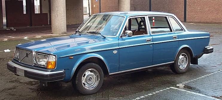 1977 1974-1985 Volvo 264 GL