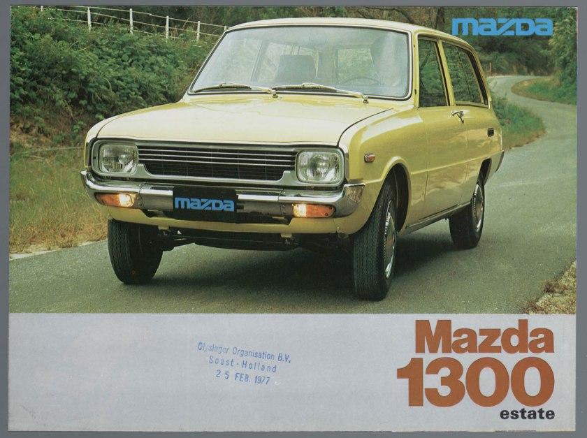 1977 Mazda 1300 Estate