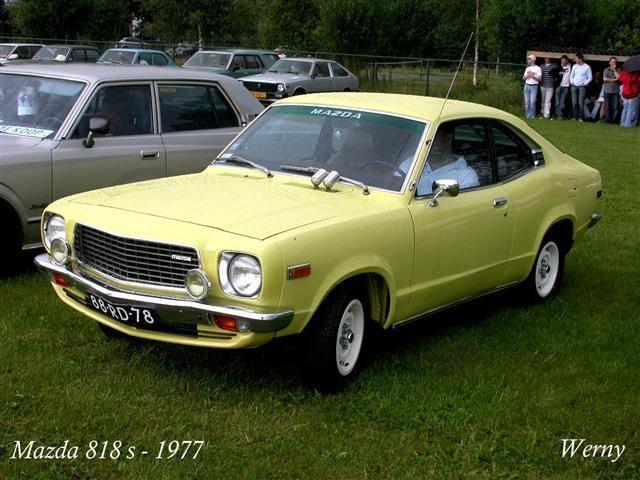 1977 Mazda 818s