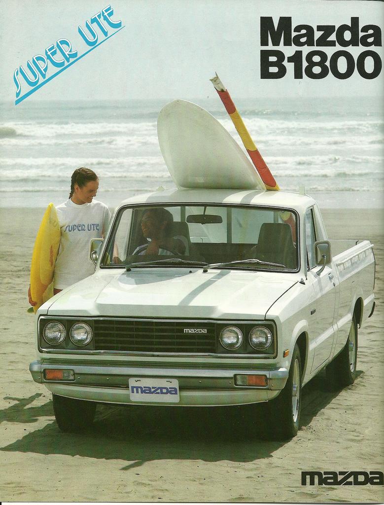 1977 Mazda B 1800