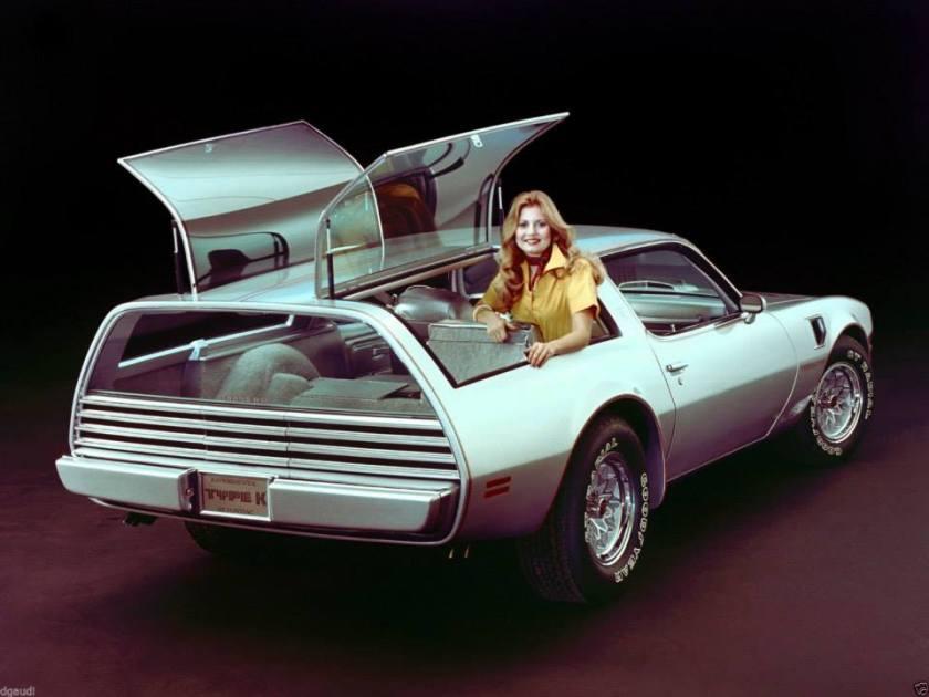 1977 Pontiac Trans Am Type K Concept