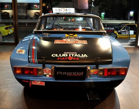 1978 Fiat 124 Spider Abarth Replica Rear