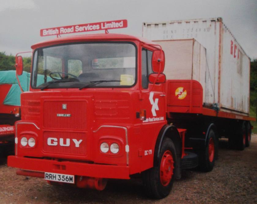1978 Guy Big J4 RRH356M BRS British Road Services
