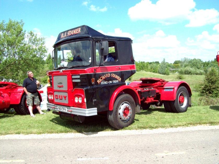 1978 Guy Big J4T Tractor Engine Gardner 180 Registration B101 SFK