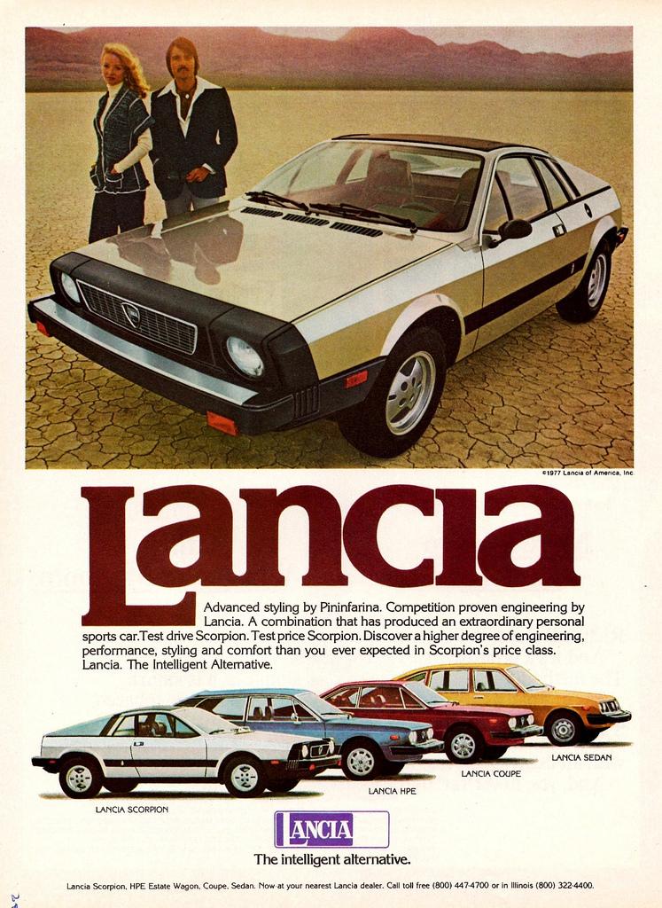 1978 Lancia Scorpionad
